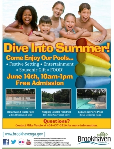 Brookhaven Pools flyer
